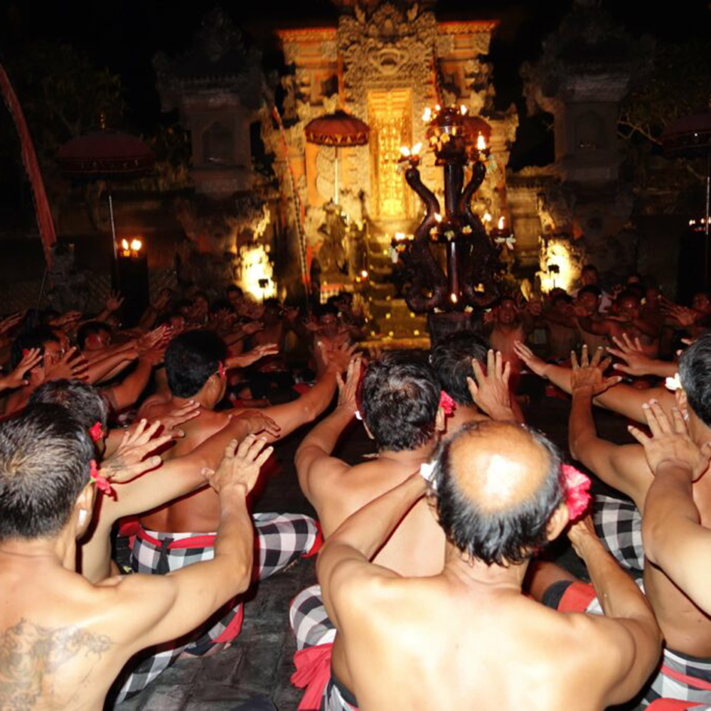 Kecak dance, Ubud, Bali