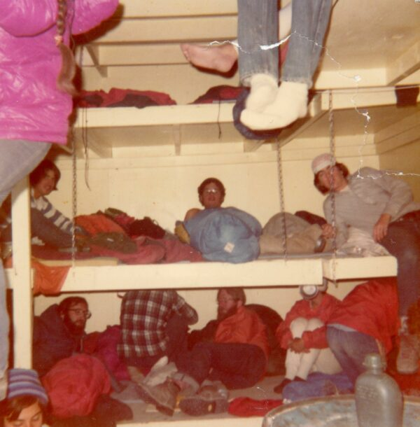 Inside the Bunk House at Camp Muir